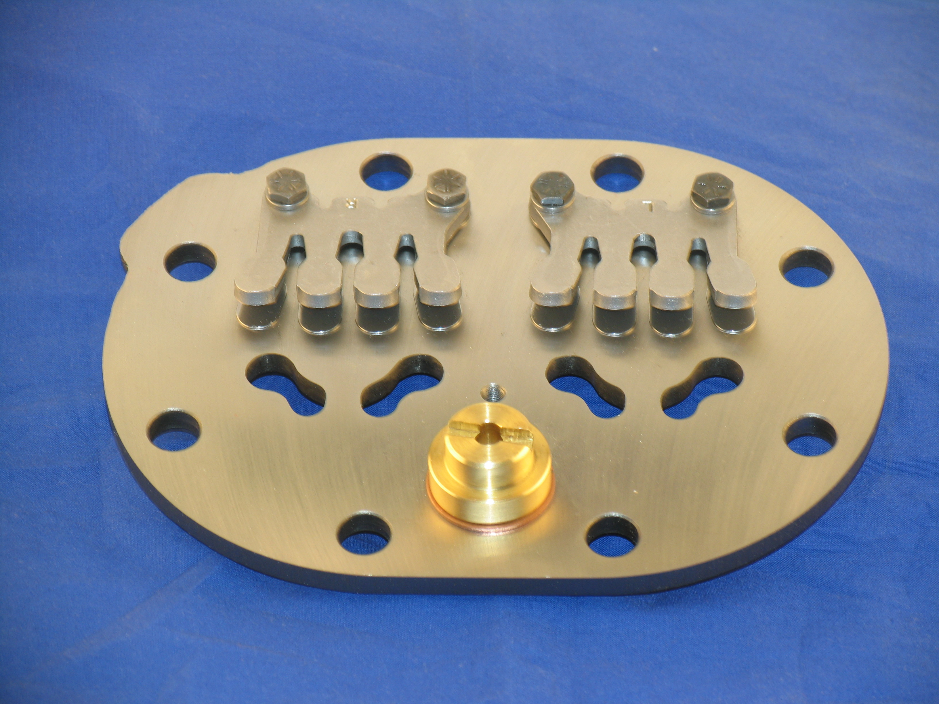 PLT-CR159 Valve Plate Assy; Low Stage With Relief Valve