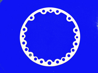 GKT-6659 Gasket; OIl Pump Cover; R/N 5H40-1423