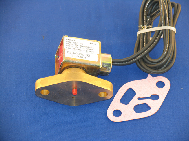 ASM-1792 Unloader Valve and Coil Assembly; R/N 998-0212-03