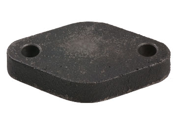 BOF-413 Shipping Plate / Cast Iron