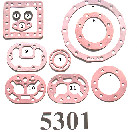 kit-5301 Gasket Kit; R/N 998-0669-05, 998-0669-06, 998-0669-07