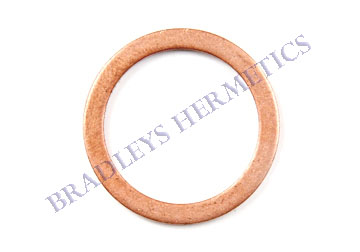 WAS-6067 Gasket; Copper (Made In The USA)