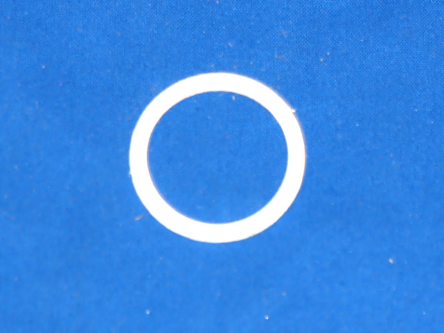 GKT-6138 Gasket; Sight Glass PTFE R/N 17-10218-02, 17-44021-00