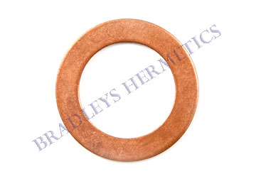 WAS-6455 Gasket; Copper; R/N 020-0297-13, AU51YA-012