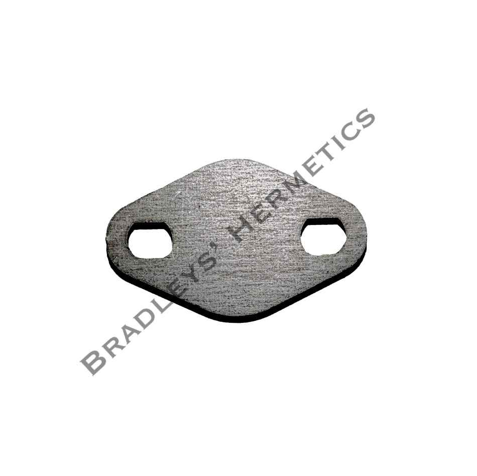 BOF-405-S Shipping or Block Off Plate ; 1/4 Steel