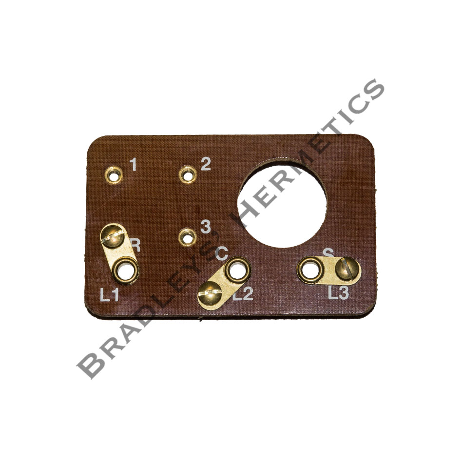 BRD-1613 Terminal Board (Made in the USA) R/N 580-0051-00