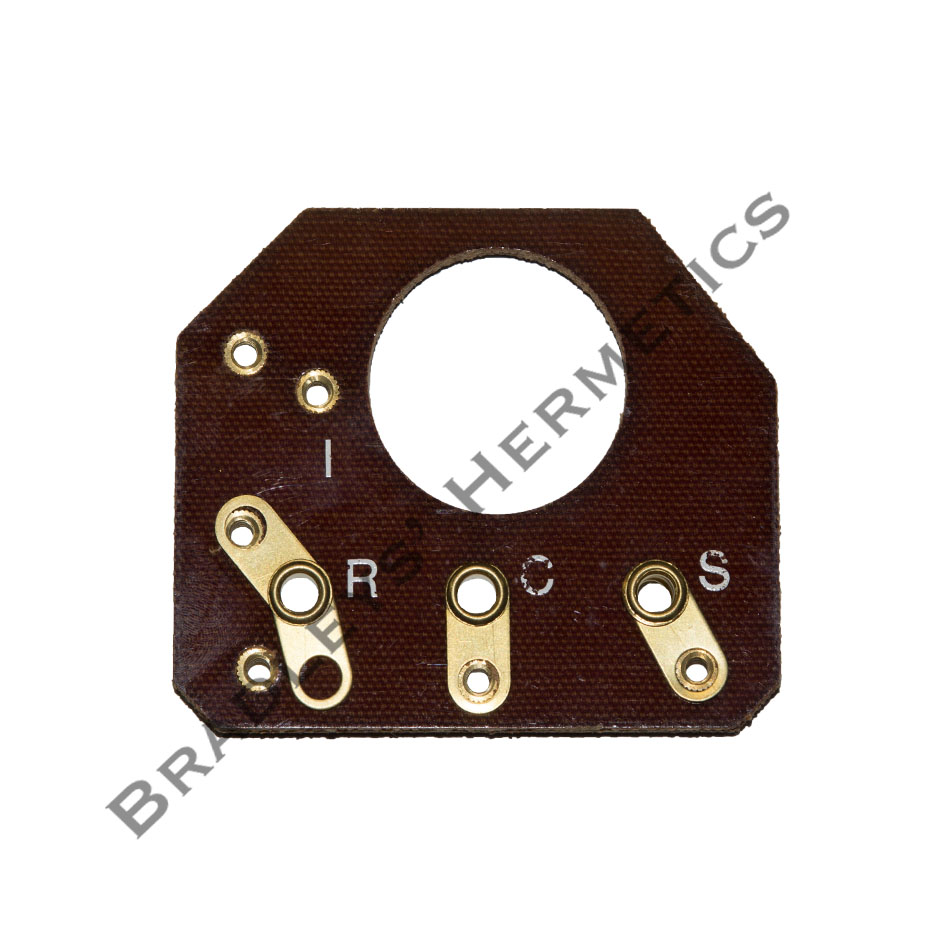 BRD-1627 Terminal Board; R/N 580-0010-01 (Made in the USA)