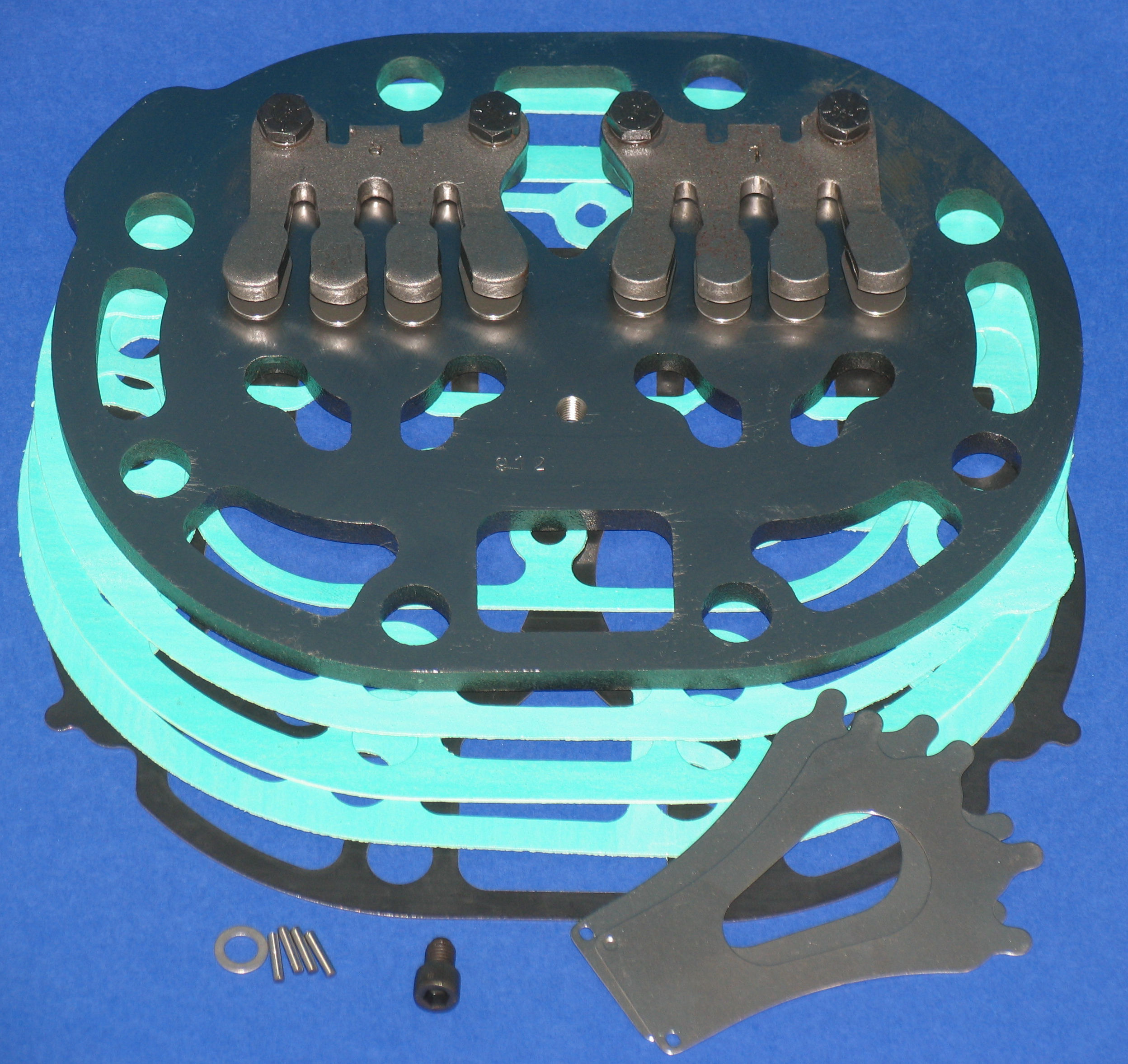 PLT-CR143 Low Temp Suction Plate Kit; R/N 06EA660-143