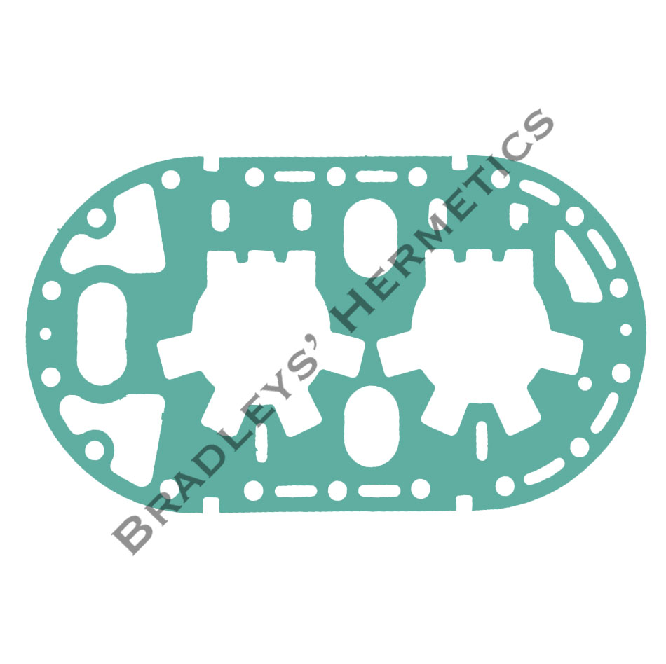 GKT-6143 Gasket; Valve Plate; R/N GKT- 301 (Made in the USA)