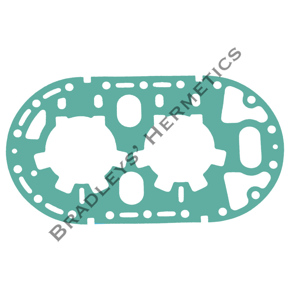 GKT-6144 Gasket; Valve Plate; R/N GKT- 158 (Made in the USA)