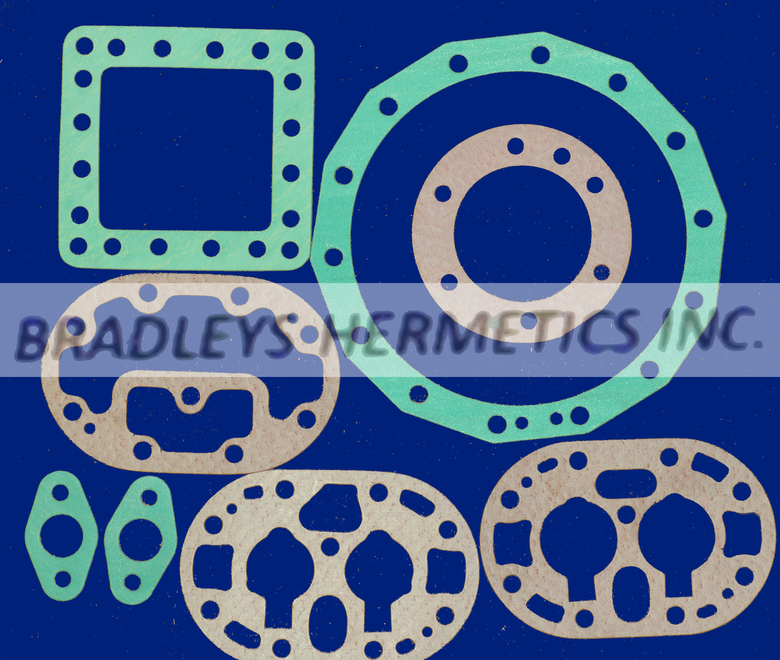 KIT-5300 Gasket Kit; J Model (Made in the USA)
