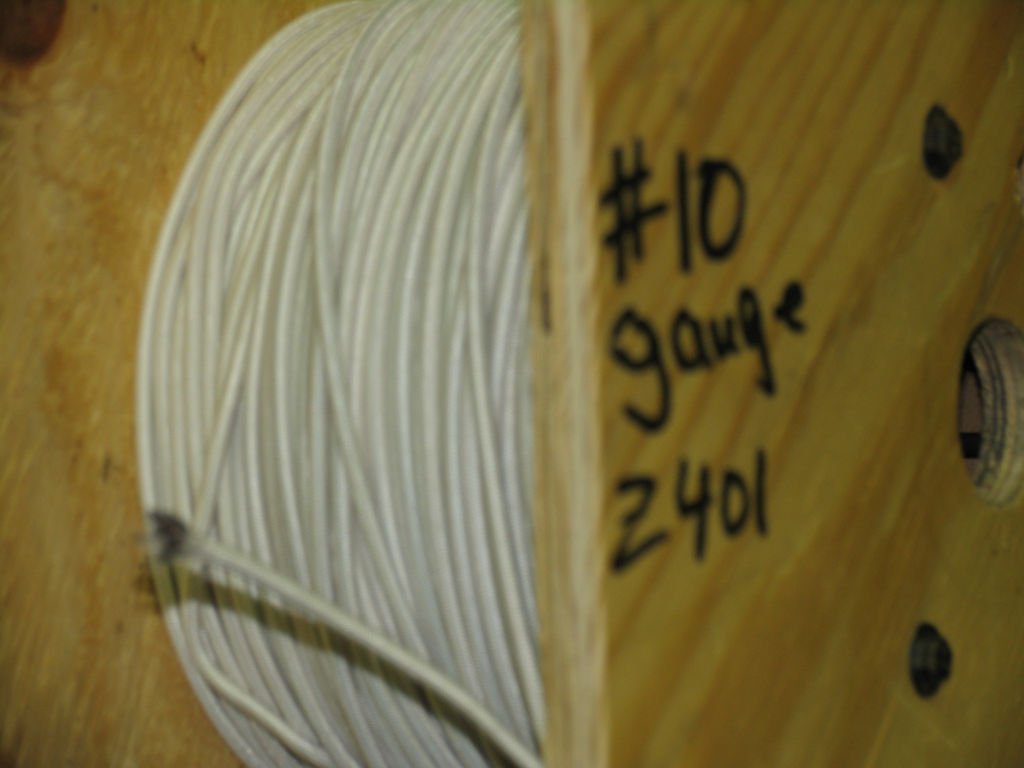 Z401 Hermetic Lead Wire #10 Wire